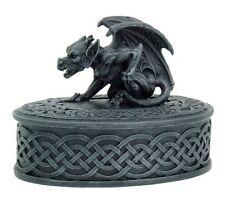 "Medieval Gargoyle Trinket Box 5-1/3 ""H, 95070 By Ack, New, Free Shipping"