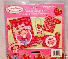 NEW STRAWBERRY SHORTCAKE GUEST OF HONOR KIT  PARTY SUPPLIES