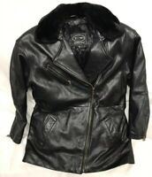 Vintage Tannery West Leather Jacket - Black- Size Mens Small