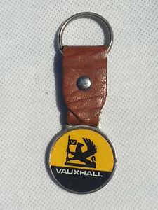 Vintage Keyring - Vauxhall Motor Car logo - Key Fob Ring Automobilia