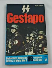 SS and Gestapo; Ballantine; First Printing