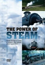 The Power of Steam (New DVD) Railway Engine Railways Locomotives Trains