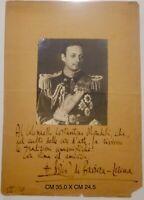 Boris di Baviera - Lorena fotografia con lunga dedica autografa