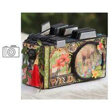 Camera Frame Metal Cutting Dies Stencil DIY Scrapbook Album Handcraft Paper Card