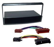 Radio Einbau Blende mit Ablage Rahmen DIN ISO Adapter Kabel Stecker für Ford