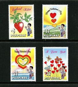 V882  Philippines  2003   Valentine's Day    4v.   MNH