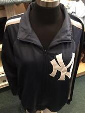 New York Yankees Full Zipper Stretch Jacket by Stitches (Large Only)-New W/ Tags