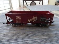 "Cast Iron Vintage Model Train, ""Everywhere West, Burlington Route"" CB&Q 13025"