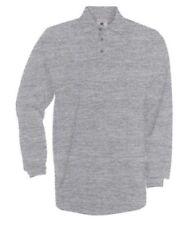 Camisas y polos de hombre de manga larga gris talla XXL