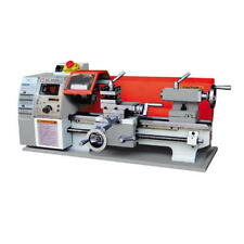 Holzmann Drehmaschine ED300FD Tischdrehbank Metalldrehbank vari. Geschwindigkeit