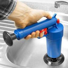 1x Air Drain Blaster Pressure Pump Cleaner Toilet Sink Plunger Pipe Kitchen TOOL