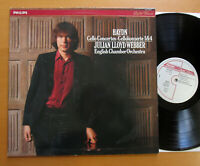 Philips 412 793-1 Haydn Cello Concertos 1 & 4 Julian Lloyd Webber NEAR MINT LP