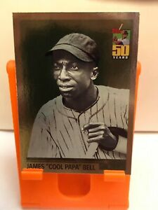 2001 Topps Chrome What Could Have Been Homestead Grays Baseball #WCB4 James Bell