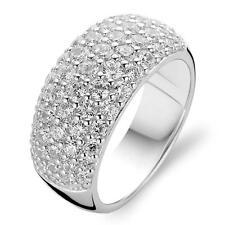 NEW Genuine Ti Sento Sterling Silver CZ set Dress ring 1546ZI Size 56 £109