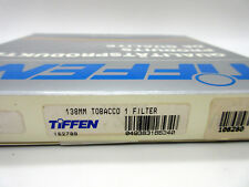 New Tiffen 138mm Tobacco 1 Filter MFR # 138TO1