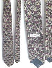 GIORGIO ARMANI cravatta fantasia autunnale elegante evidenza - autumn Tie
