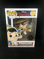 Disney Pinocchio With Jiminy Cricket Funko Pop Vinyl