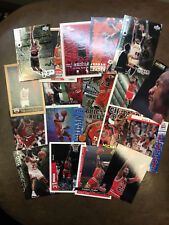Michael Jordan basketball card lot    20 different cards  MJ   Bulls   NM++
