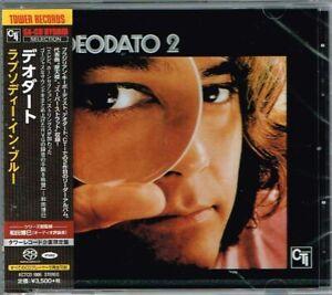 "Eumir Deodato ""Rhapsody In Blue"" Japan SACD w/OBI NEW Tower Records"