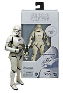"""Star Wars Black Series Carbonized Collection First Order Jet Trooper 6"""" Fig MIB"""