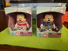 "Disney Vinylmation 3"" Park Set 1 Tokyo Japan Lot Mickey Minnie Mouse Geisha"