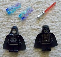 LEGO Star Wars - Rare - Darth Vader & Sith Lord Emporer Palpatine - From 10188