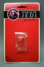 CARD & BLISTER ONLY STAR WARS RETURN OF THE JEDI JEWELRY WICKET PIN OPENED 1983
