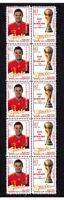 SPAIN 2010 WORLD CUP WIN MINT STAMP STRIP, Juan Mata