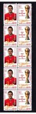 SPAIN 2010 WORLD CUP WIN MINT STAMP STRIP, Juan Mata