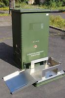 BUNDESWEHR ZARGES ALU BOX B-Y KISTE 680L 80x60x140 LAGER ALU BEHÄLTER 0,68m3 BW