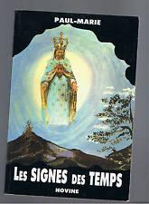 LES SIGNES DES TEMPS  PAUL-MARIE  HOVINE 1991