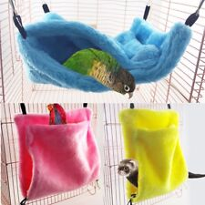 Pet Bird Hammock Hamster Ferret Parrot Cage Nest Hanging Bed Soft Warm Tent Toy