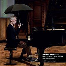 Walter MARCHETTI Concerto for the left hand CD Van Houdt Alga Marghen Fluxus
