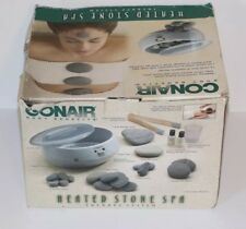 Conair Heated Stone Spa Therapy System Kit Model HR10 Body Benefits