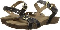 L'Artiste by Spring Step Womens Flat Sandals in Black Color, Size 9 ASS