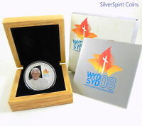 2008 $1 WORLD YOUTH DAY Silver Proof Coin