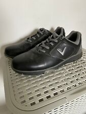 New listing CALLAWAY GOLF SHOES CHEV COMFORT MENS WATERPROOF GOLF SHOES BLACK SIZE 9.5