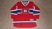 Montreal Canadiens Red #13 Cammalleri Reebok Youth Large/XL NHL Hockey Jersey