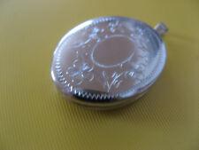 Sehr schöner Anhänger / Medaillon für 2 Bilder in 925er Silber Ungetragen!