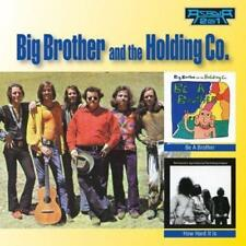 BIG BROTHER AND THE HOLDING COMPANY - BE A BROTHER / HOW HARD IT IS 2On1 CD NEW