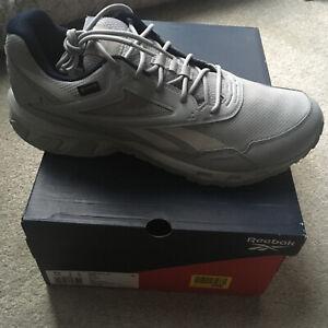 NEW GORE-TEX Reebok Ridgerider 5 gtx walking Trainers UK 12 RRP £87 Grey Men's