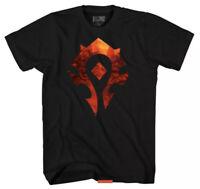World Of Warcraft Horde Logo Mens Shirt Size XL Extra Large Blizzard Blizzcon XL