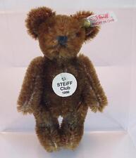 Steiff Club Edition Club Geschenk 1999/2000 Teddy 7cm braun mit K/F/S OVP #167