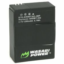 Wasabi Power Replacement Battery(1280mAh) for GoPro Hero 3+, Hero 3 - AHDBT302