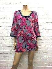 Laundry By Shelli Segal Beautiful Floral Jersey Dress UK 12