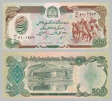 Afganistán 500 afganis 1990 p60b UNC.