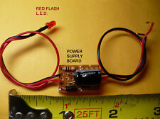 3mm RED Flashing LED Beacon, Tail LIght, ETD for Lionel, MTH, Williams Trains