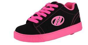 HEELYS GIRL'S STRAIGHT UP 770049H COLOR:BLACK/PINK