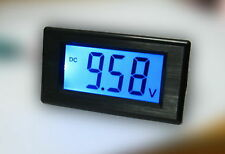 Blue LCD Voltage Volt Meter 7.5-20V 2-Wire No Need Power Battery 12V Monitor MZ