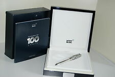MONTBLANC SOULMAKERS FOR 100 YEARS FOUNTAIN PEN 146 SILVER